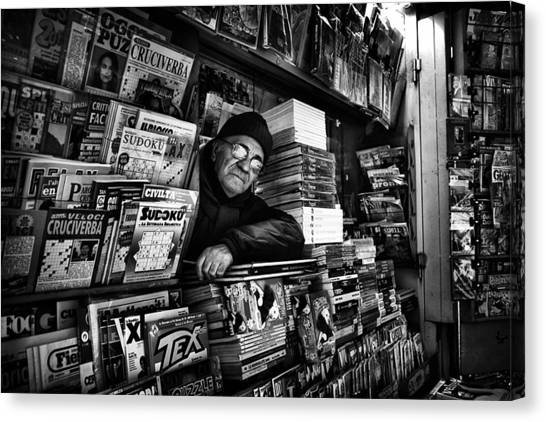 Shop Canvas Print - Sudoku Corner... by Antonio Grambone