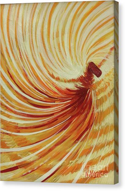 Canvas Print featuring the painting Sufi-2 by Nizar MacNojia