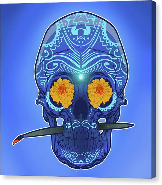 Sugar Skull Canvas Print