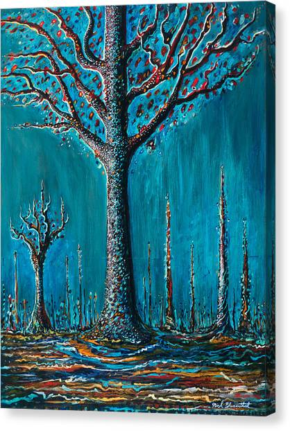 Sugar Tree Canvas Print