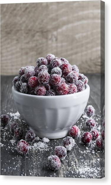 Thanksgiving Canvas Print - Sugared Cranberries by Elena Elisseeva