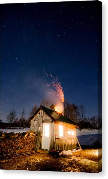 Sugaring Time Canvas Print