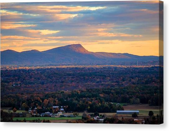 Sugarloaf View, South Deerfield, Ma Canvas Print