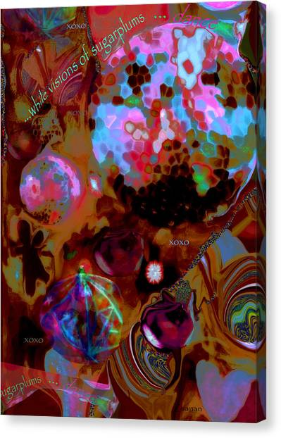 Sugarplums Canvas Print
