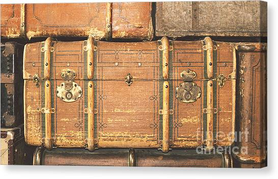 Suitcases  Canvas Print