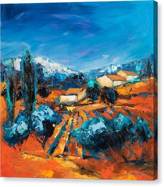 Sulla Collina Canvas Print