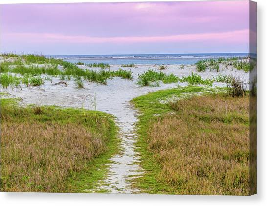 Sullivan's Island Natural Beauty Canvas Print
