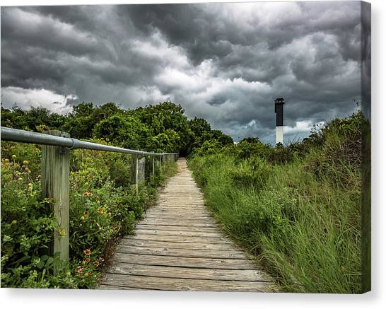 Sullivan's Island Summer Storm Clouds Canvas Print