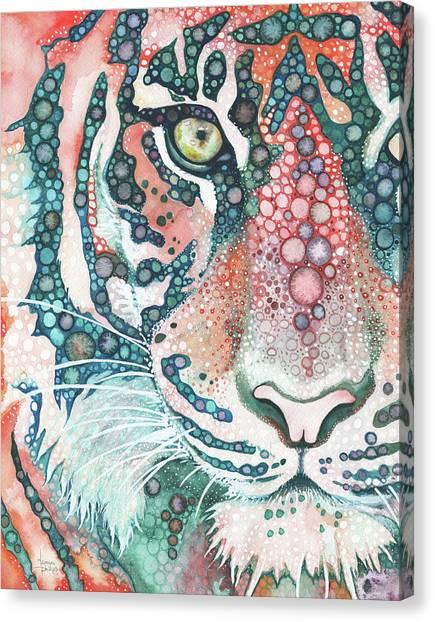 Tigers Canvas Print - Sumatran Tiger by Tamara Phillips