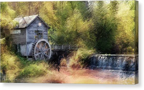 Summer At The Mill Canvas Print