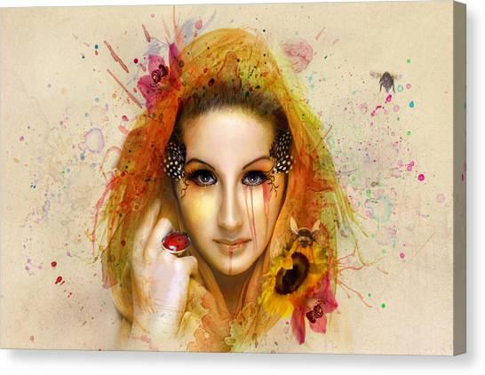 Fineart Canvas Print - Summer by Baden Bowen