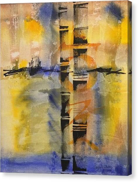 Summer Bamboo  Canvas Print