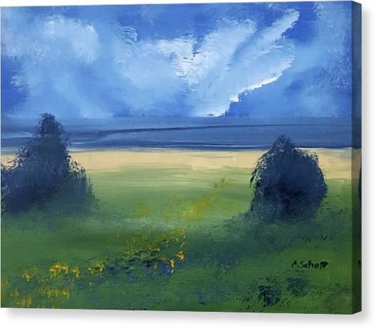Summer Bay Canvas Print