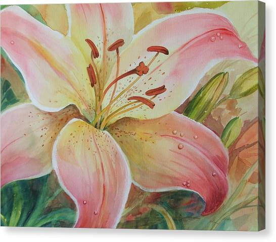 Summer Beauty Canvas Print by Dianna Willman