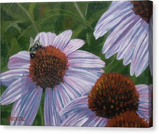 Summer Bees I Canvas Print