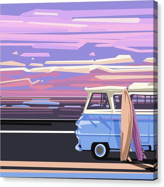 Southwest Canvas Print - Summer by Bekim M