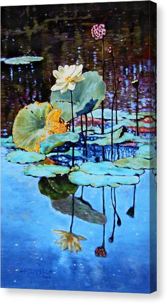Summer Calm Canvas Print