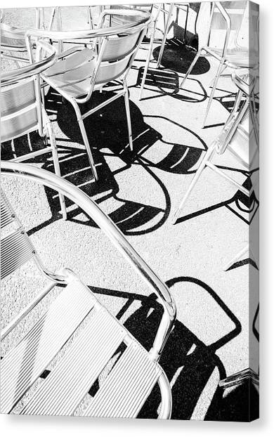 Summer Chair Pattern Canvas Print