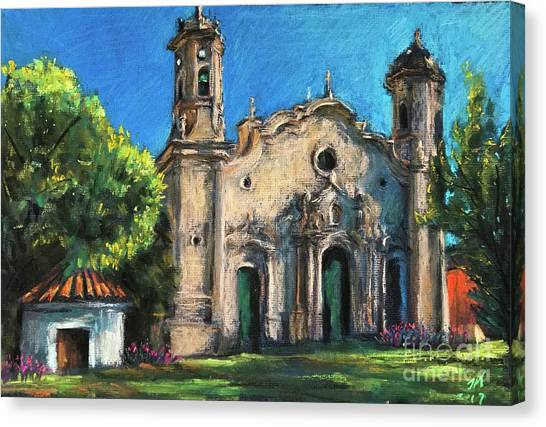 Summer Church Canvas Print