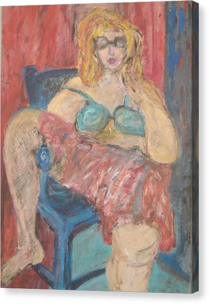 Summer Day Canvas Print by Vivien Ferrari