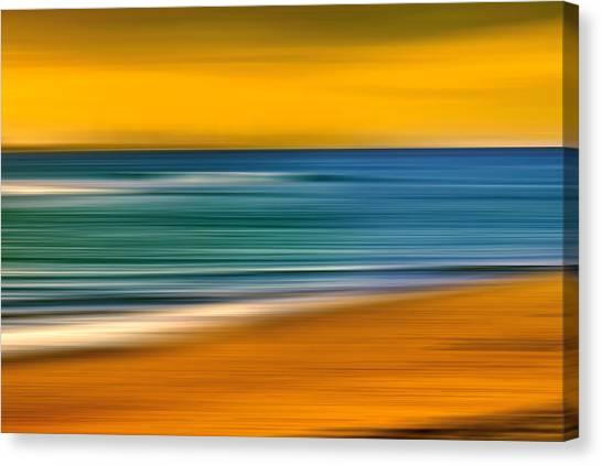 Fluid Canvas Print - Summer Dayz by Az Jackson