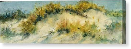 Summer Dunes Canvas Print