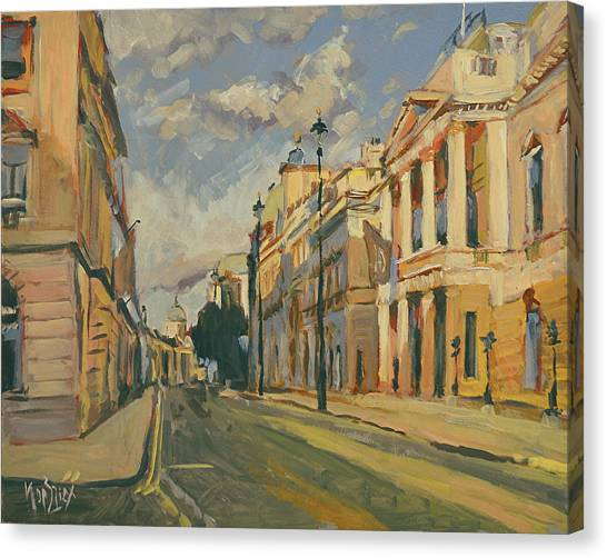Canvas Print - Summer Evening Pall Mall London by Nop Briex