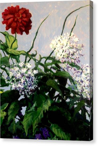 Summer Flowers 1 Canvas Print