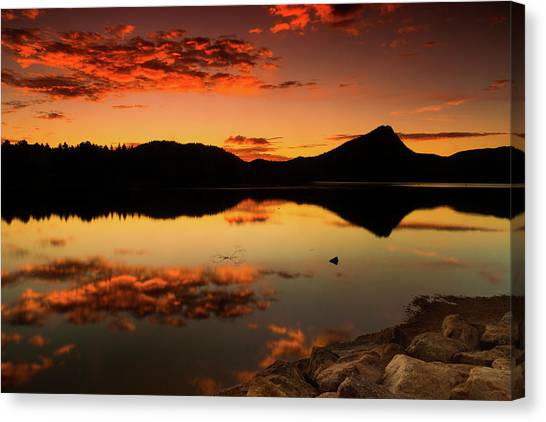 Summer Glow Canvas Print