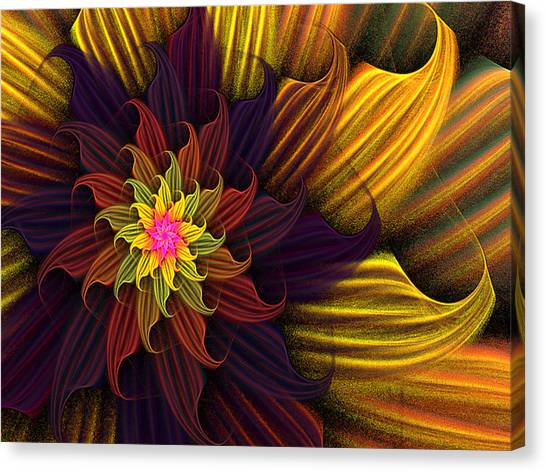 Summer Harvest Flower Canvas Print