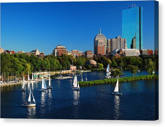 Summer In Boston Canvas Print