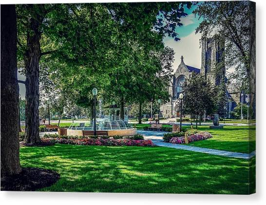 Summer In Juckett Park Canvas Print