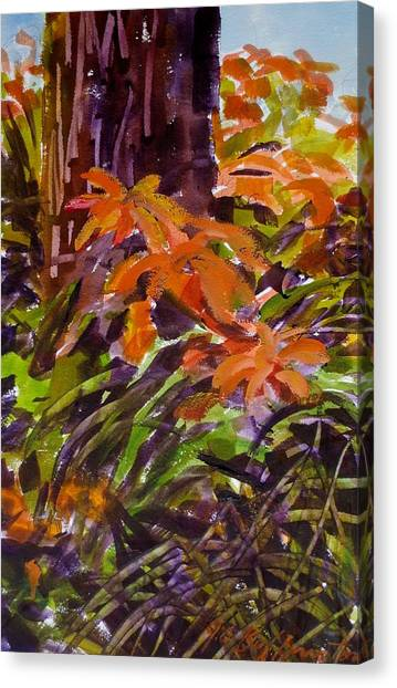 Summer Canvas Print by JULES Buffington