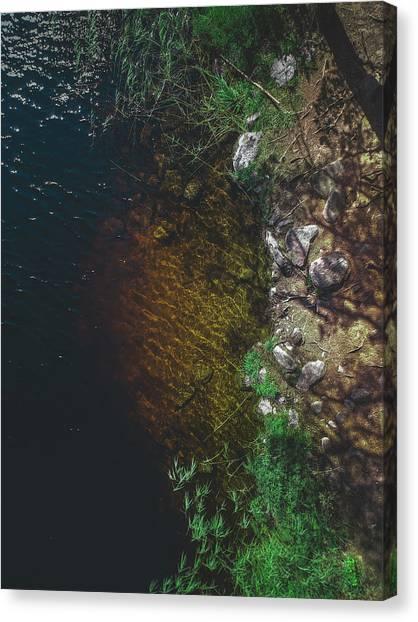 Swedish Canvas Print - Summer Lake - Aerial Photography by Nicklas Gustafsson
