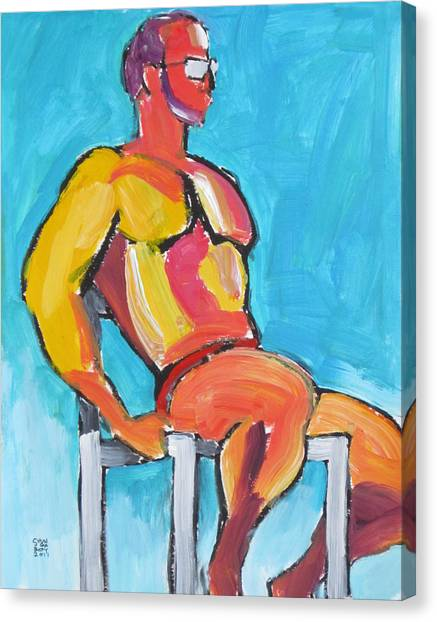 Summer Lifeguard Canvas Print