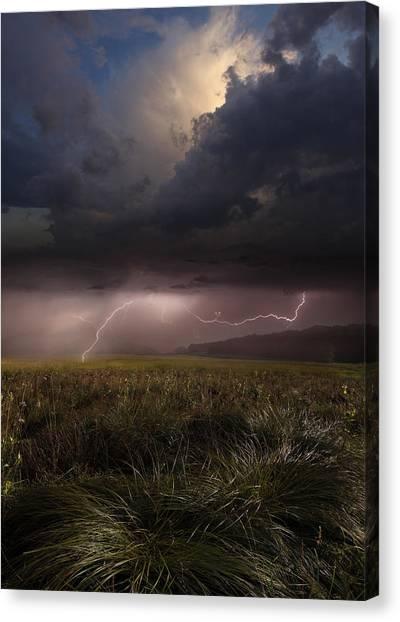 Thunderstorms Canvas Print - Summer Lights by Franz Schumacher