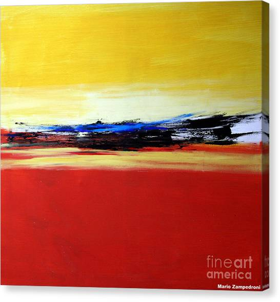 Summer Canvas Print by Mario Zampedroni