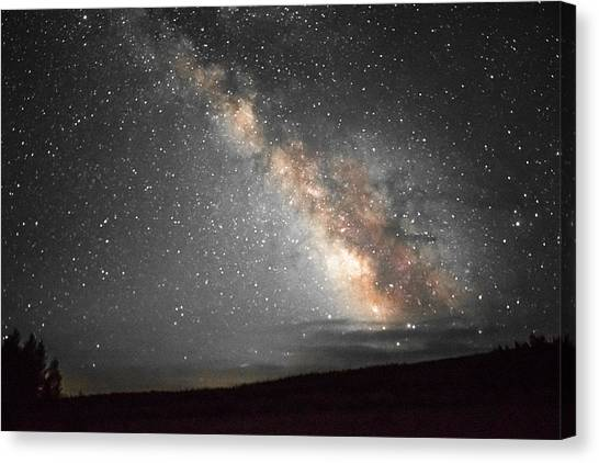 Summer Night Light Canvas Print