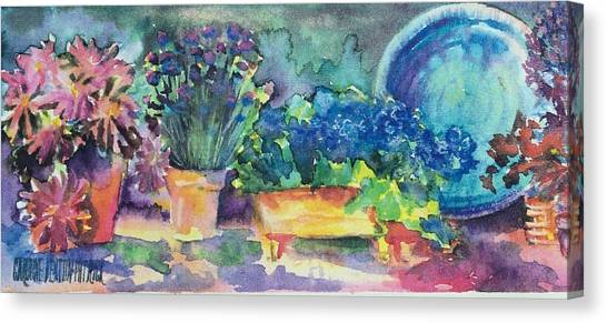 Summer On The Porch Canvas Print