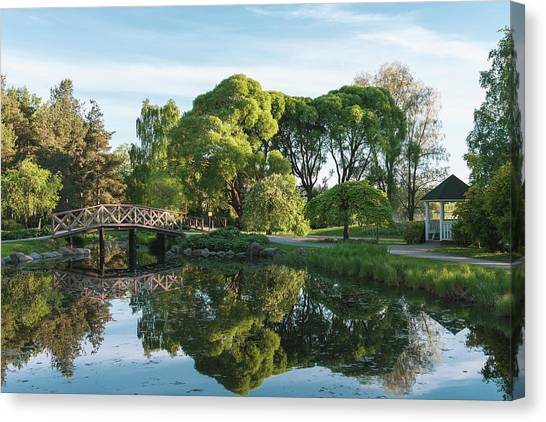 Summer Park Canvas Print