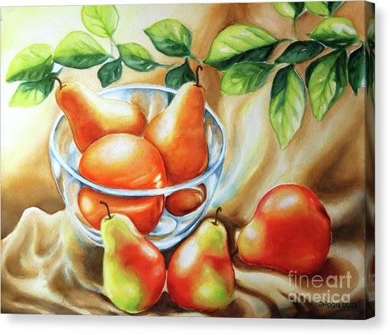 Summer Pears Canvas Print