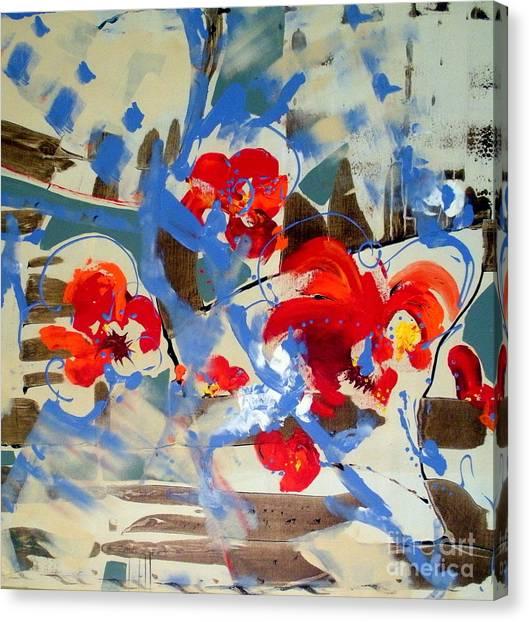 Canvas Print - Summer Poppies by Jane Ferguson