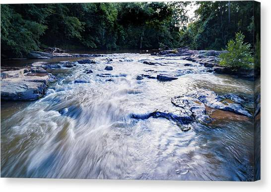 Summer River Canvas Print