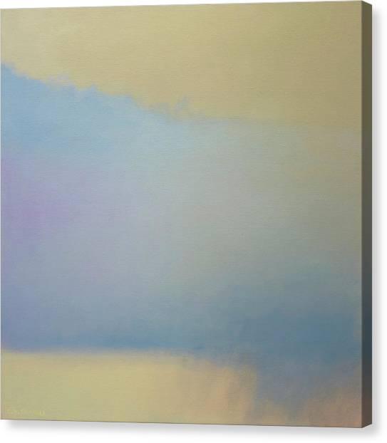 Summer Shower Montana Canvas Print