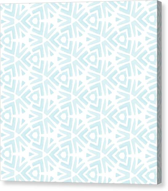 Christmas Art Canvas Print - Summer Splash- Pattern Art By Linda Woods by Linda Woods