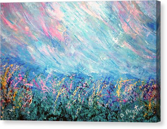 Summer Storm Canvas Print by Donna Proctor