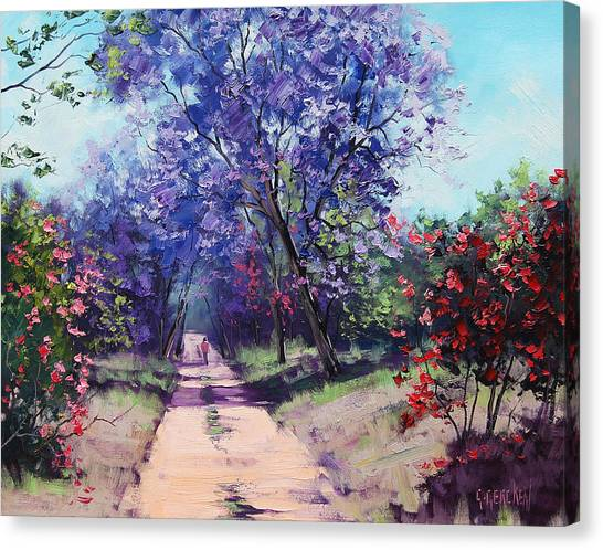 Cans Canvas Print - Summer Stroll by Graham Gercken