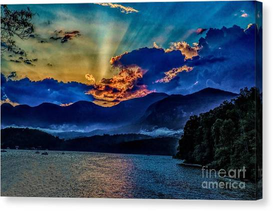 Summer Sundown Canvas Print