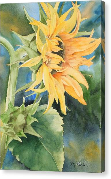 Summer Sunflower Canvas Print