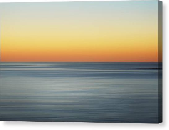 Sunrise Horizon Canvas Print - Summer Sunset by Az Jackson
